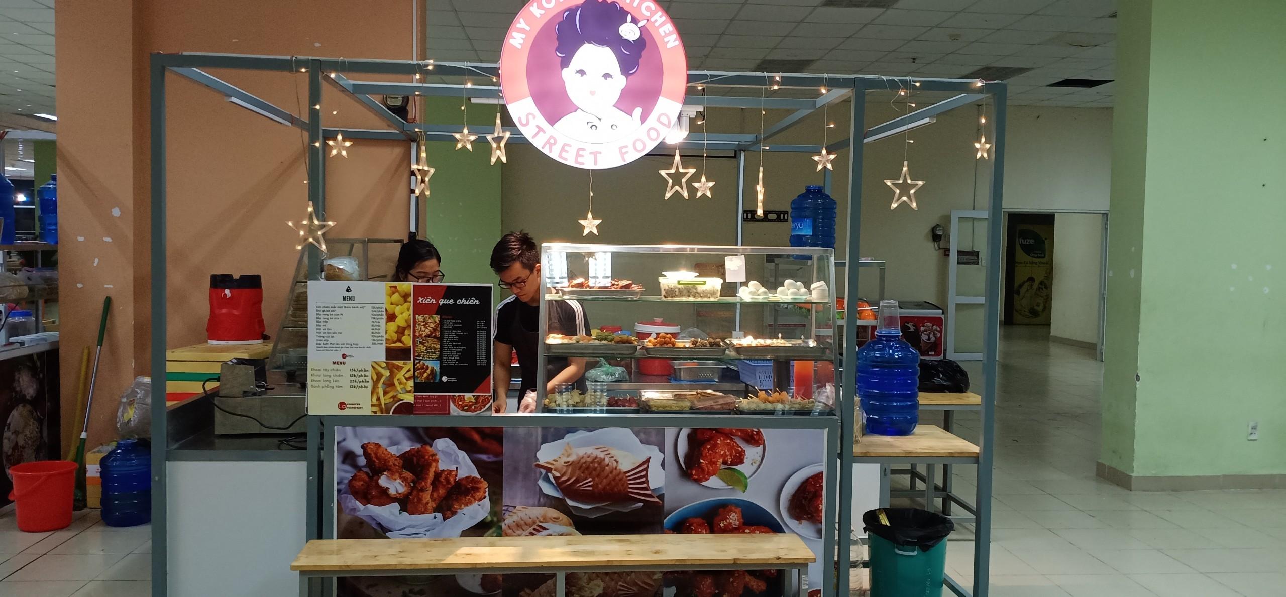 Kiot Korean tại phố ẩm thực làng
